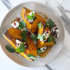 Spiced Pumpkin, Labneh and Pomegranate
